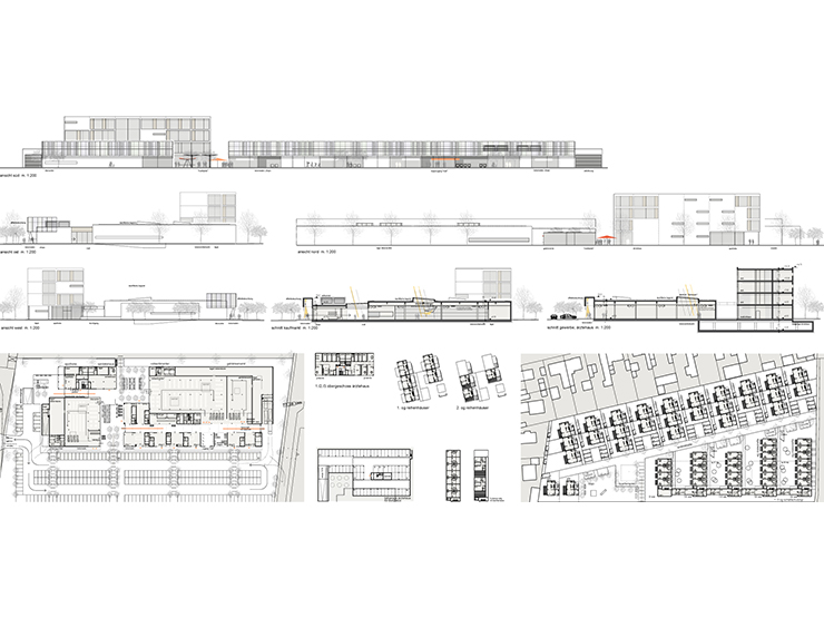 Architekt Erlangen einkaufszentrum erlangen engelhardt architekten