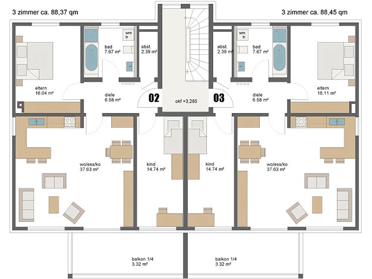 mehrfamilienhaus schwabach engelhardt architekten. Black Bedroom Furniture Sets. Home Design Ideas